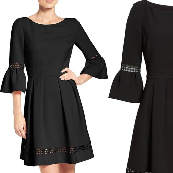 Eliza J Dresses & Skirts - Eliza J Bell Sleeve Fit and Flare Dress